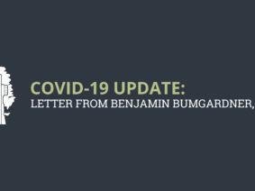 COVID-19 Update: Letter from Benjamin Bumgardner, DDS
